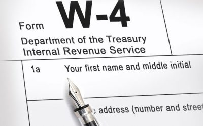 New IRS W-4 Form
