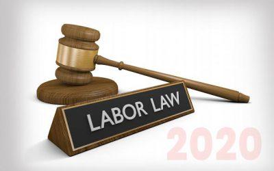 New California HR Developments for 2020