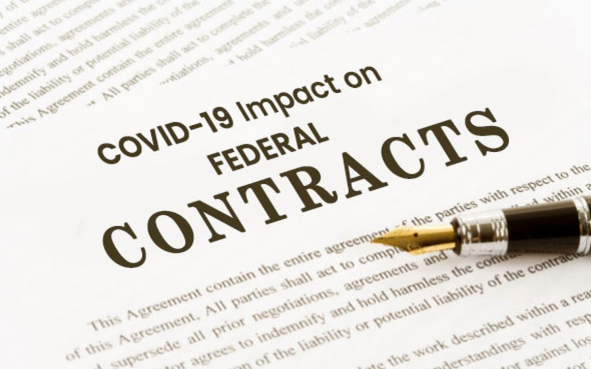 Coronavirus spreading and impacting on government contracts