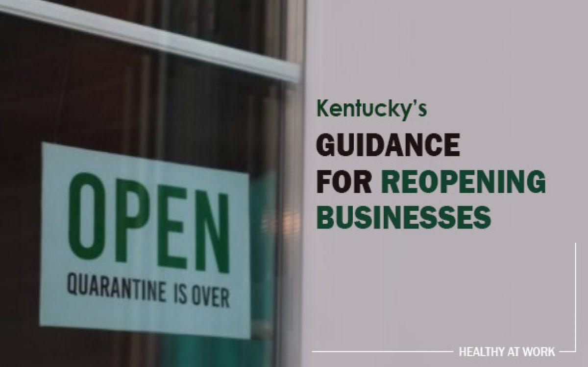 Kentucky Healthy at Work Plan